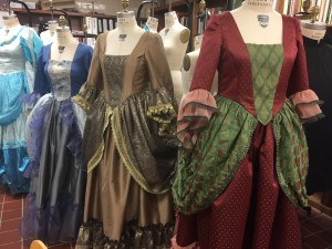 Colonial Ball Gowns