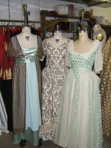Edwardian Evening gowns 1