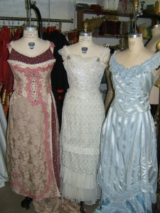 Edwardian Evening gowns 3