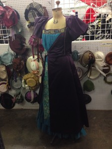 Victorian Evening Gown (1)